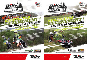 Bihr Adventure 2015, Moto & Quad